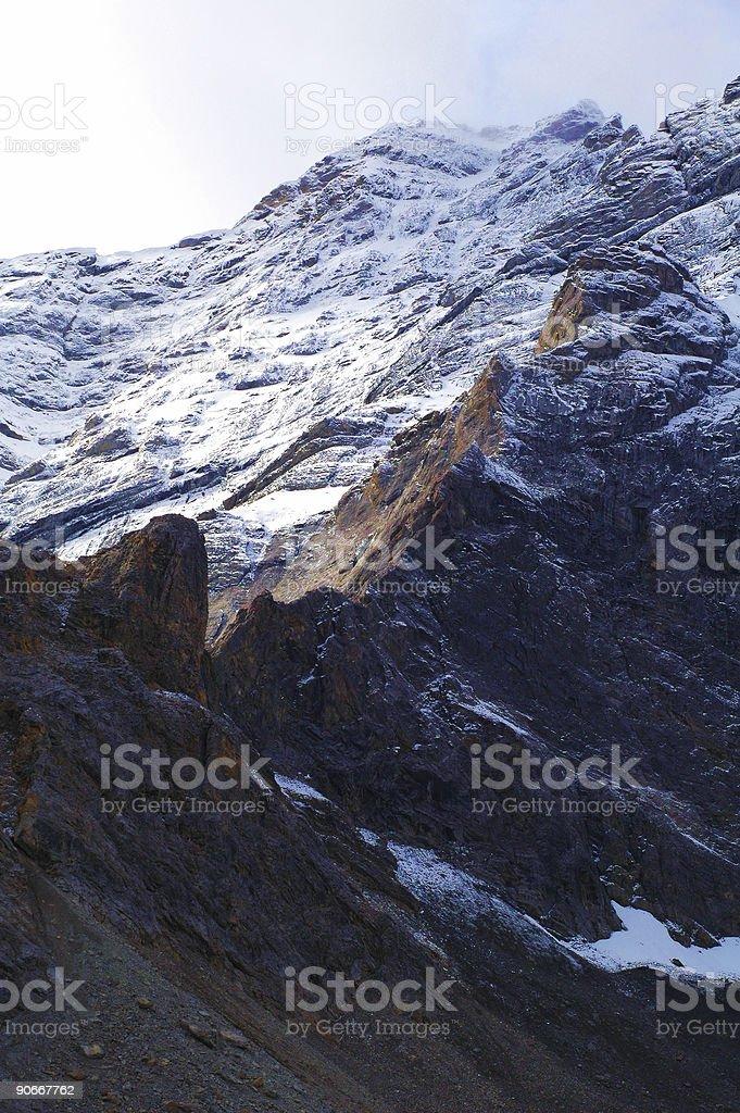 Ridgelines royalty-free stock photo