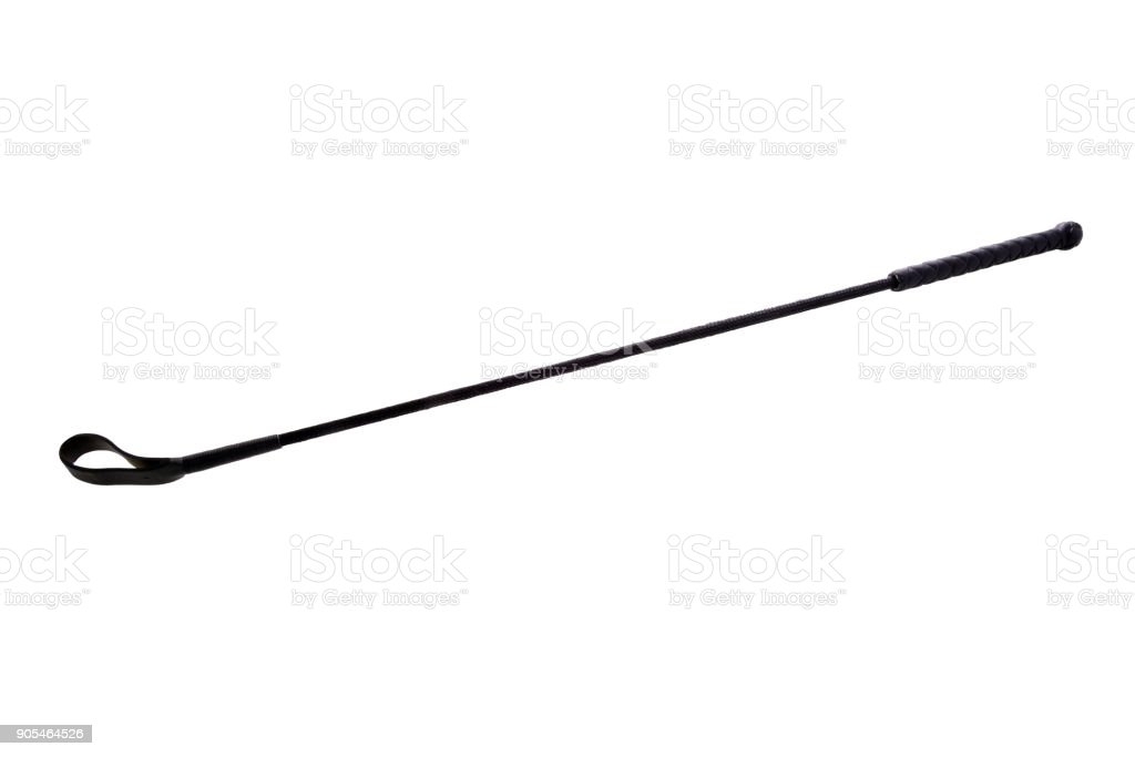 Riding crop stock photo