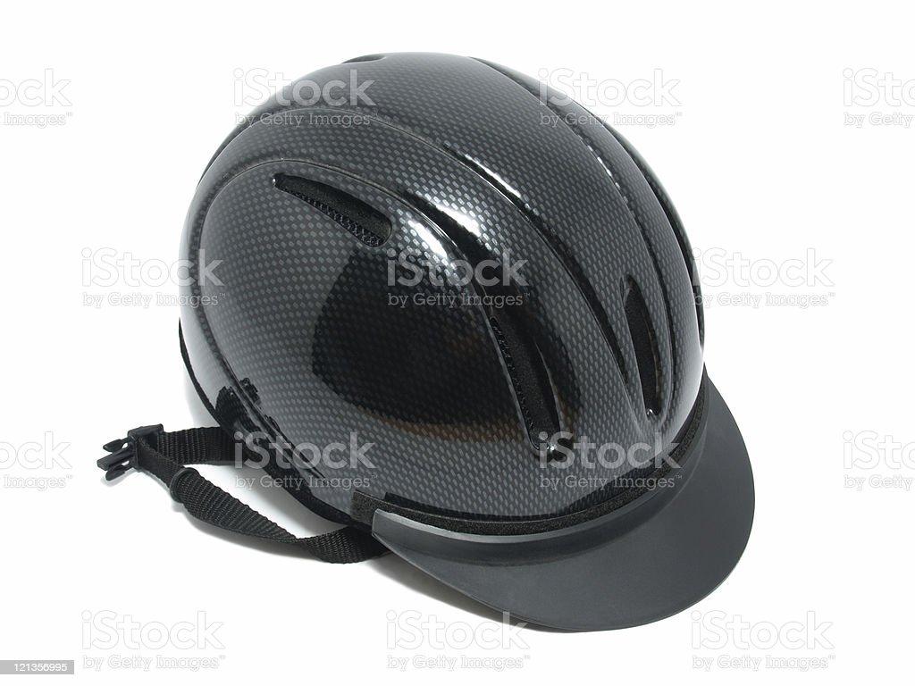 Riding Hat stock photo
