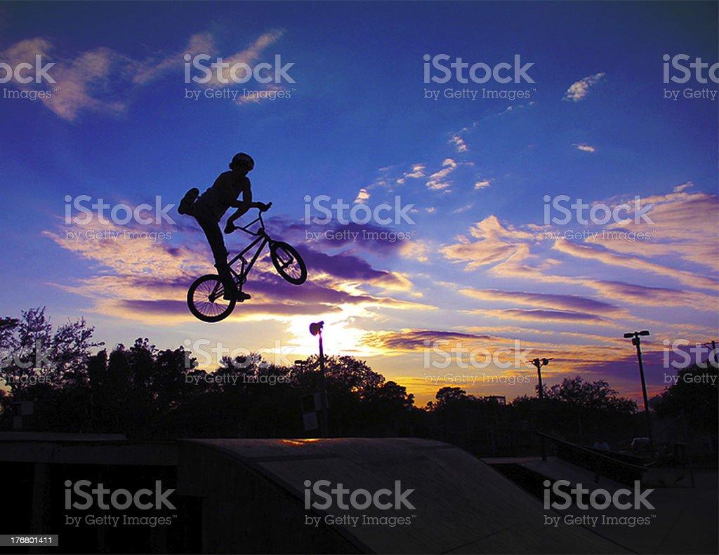 BMX Riding stock photo