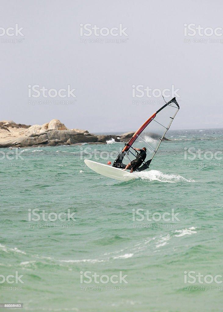 riding the waves royalty free stockfoto
