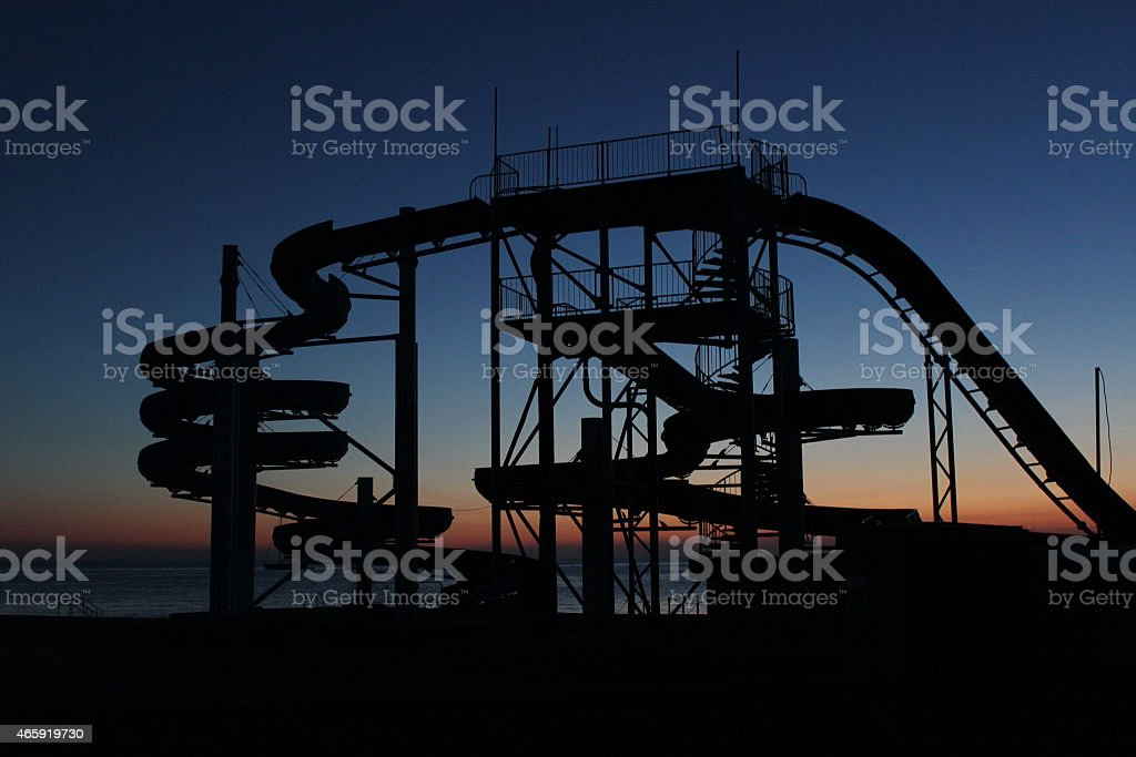 riesenrutsche stock photo