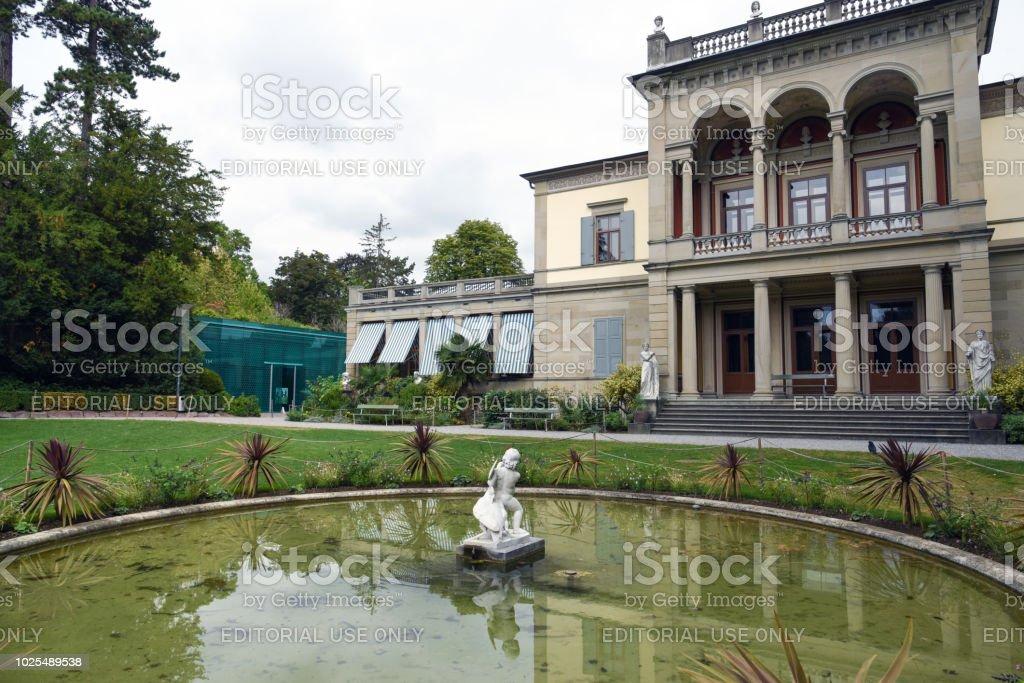 Rietberg Museum stock photo
