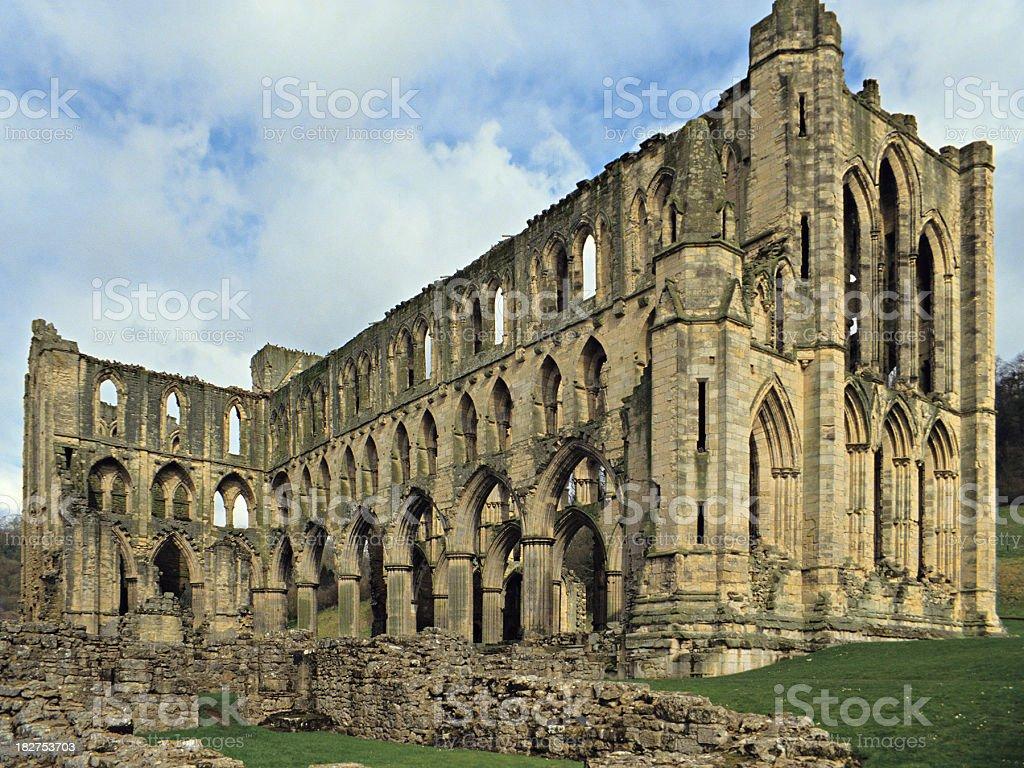 Rievaulx Abbey royalty-free stock photo