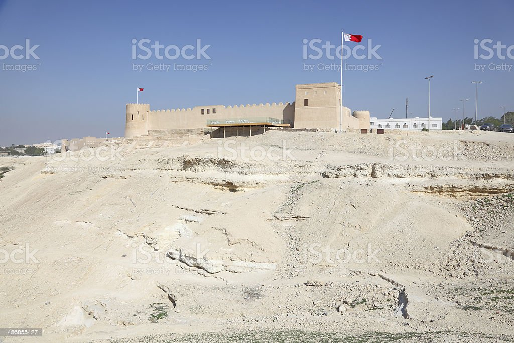 Riffa fort in Bahrain, Middle East stock photo