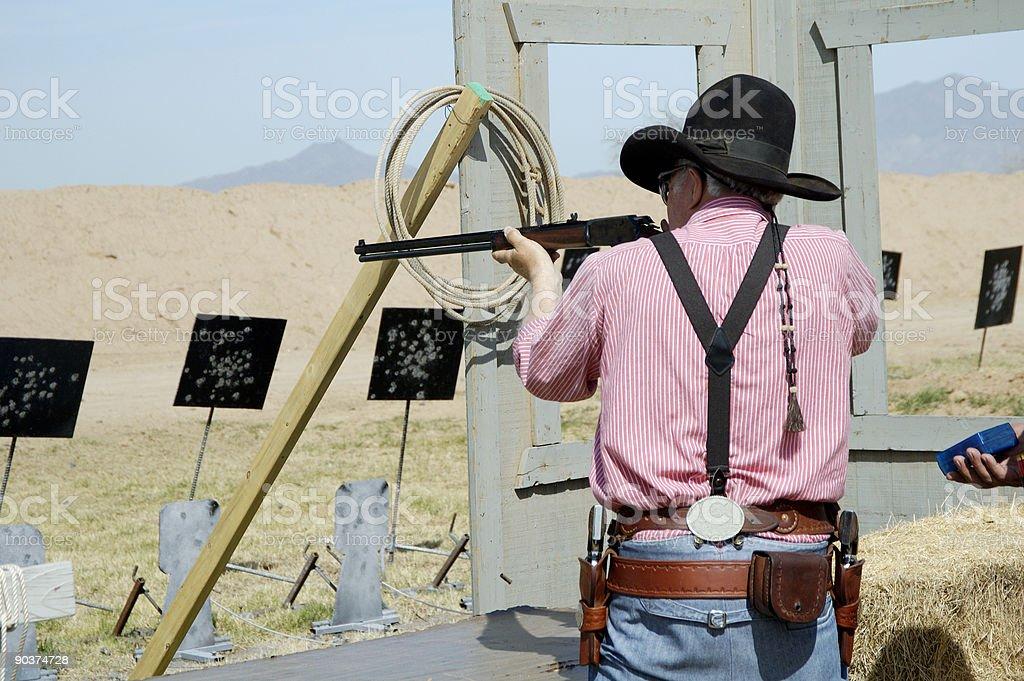 Rifle Action 2 stock photo