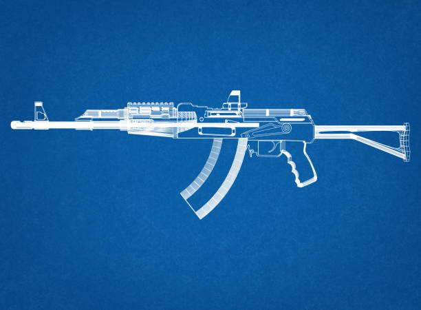 Gewehr-Blaupause – Foto