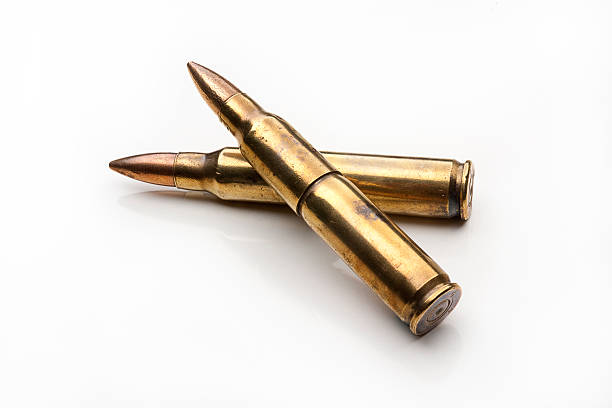 cartucce di fucile - proiettile foto e immagini stock