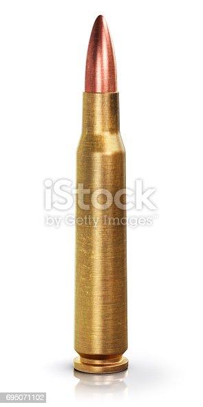 1043434568 istock photo Rifle gun bullet 695071102