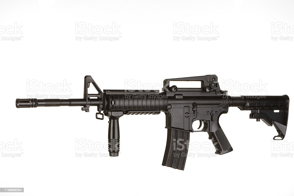 M4 Rifle stock photo