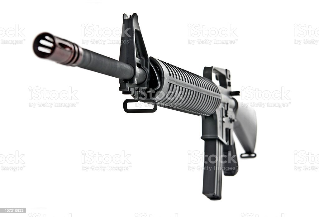 M16 Rifle royalty-free stock photo