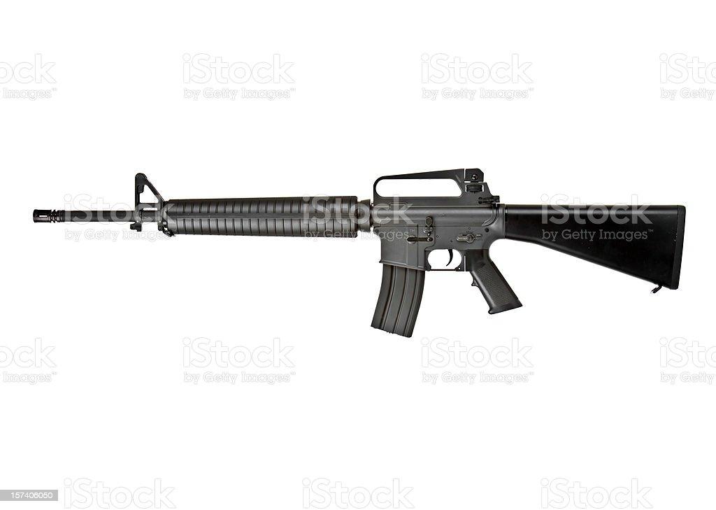 M-16 Rifle royalty-free stock photo