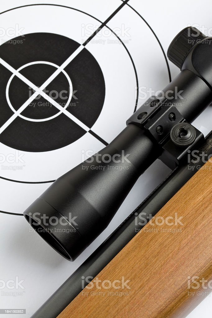 Rifle royalty-free stock photo