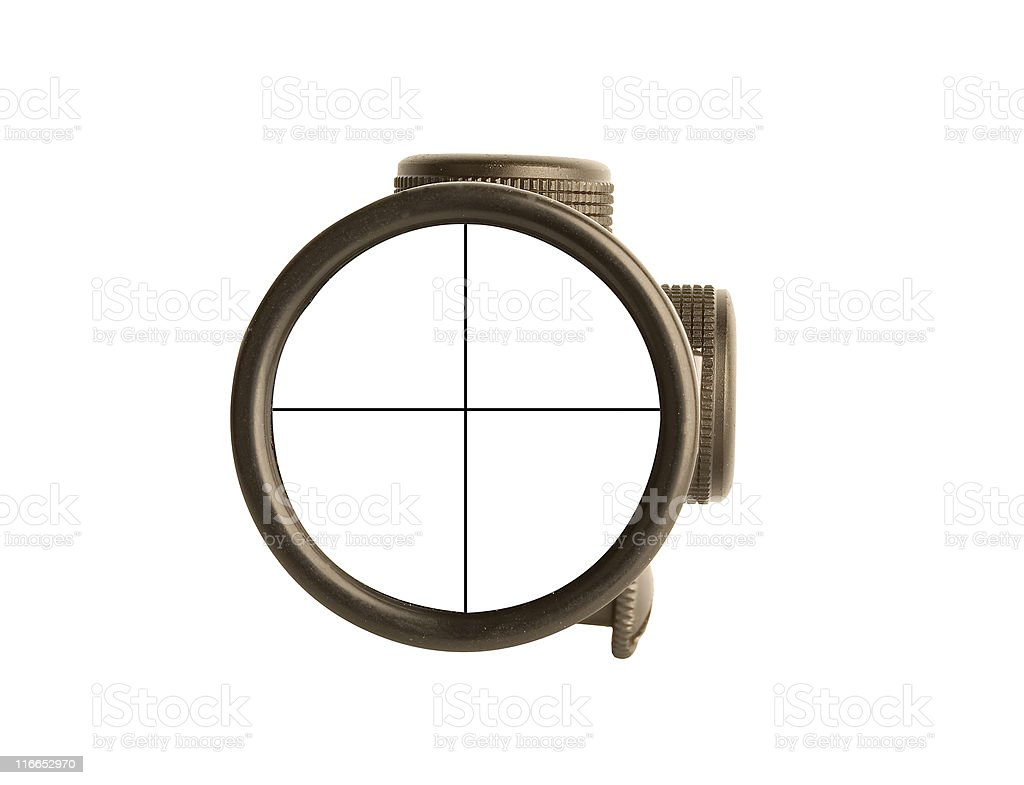 rifle scope royalty-free stock photo