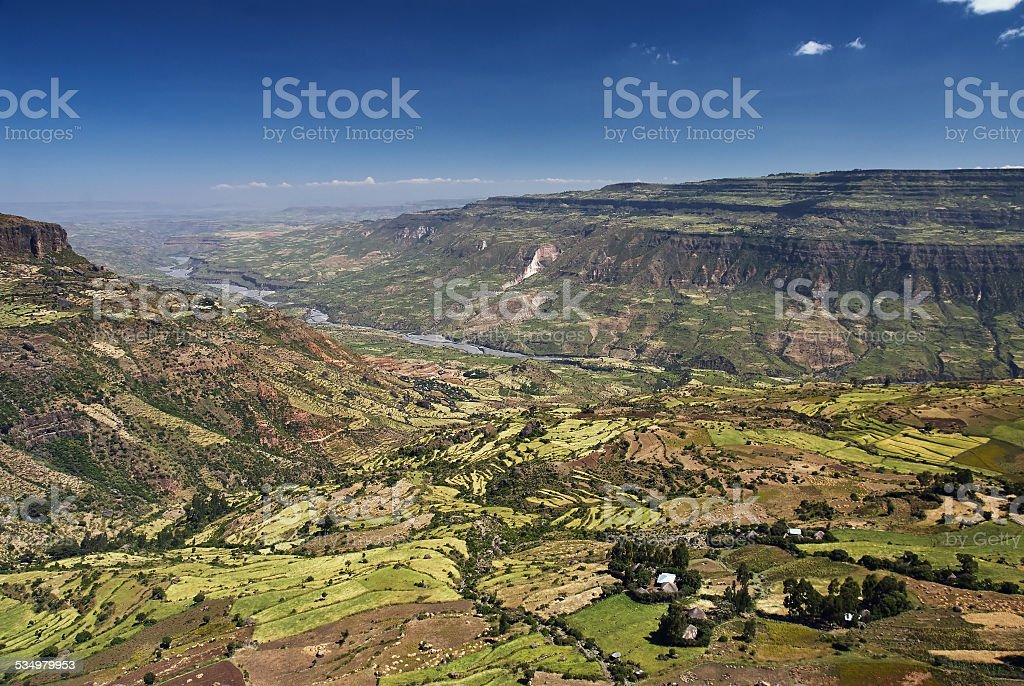 Rift valley stock photo
