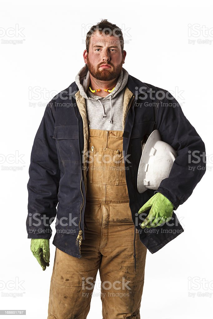 Rig Worker royalty-free stock photo