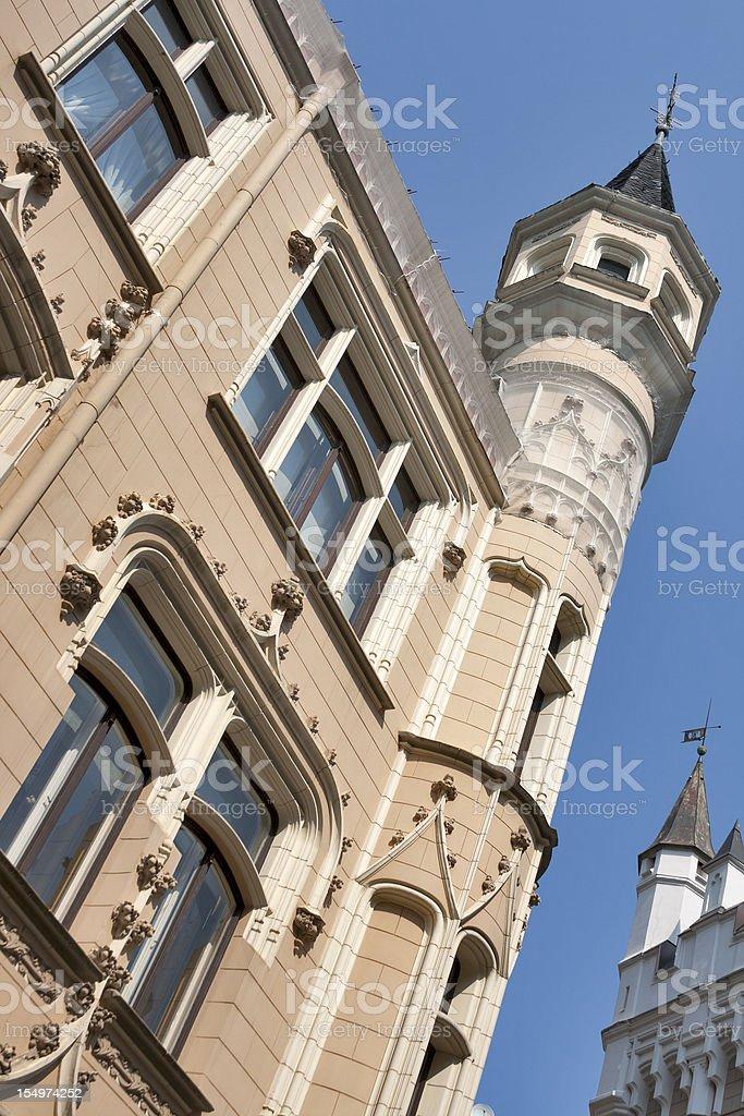 Riga architecture royalty-free stock photo