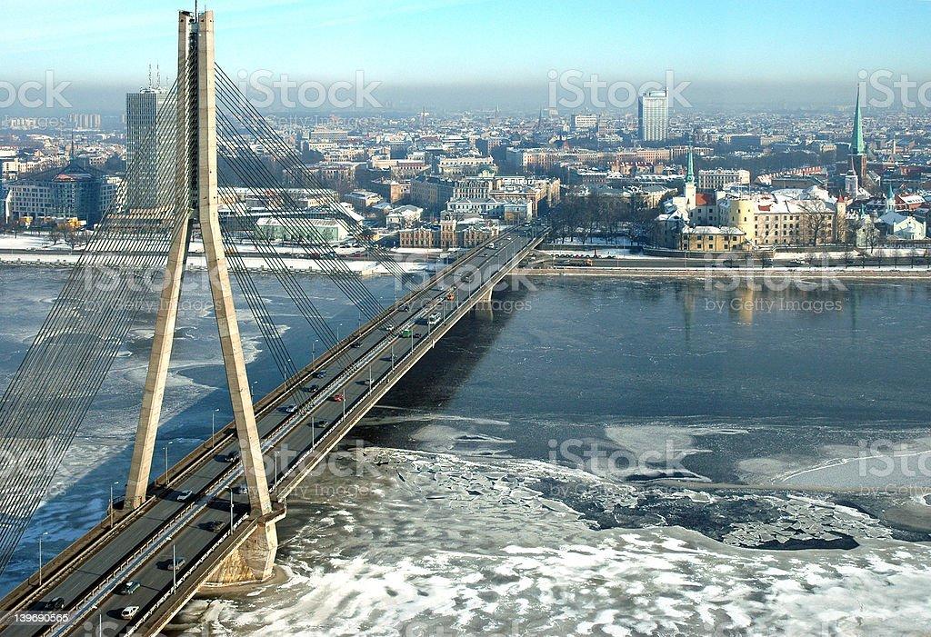 Riga, capital of Latvia royalty-free stock photo