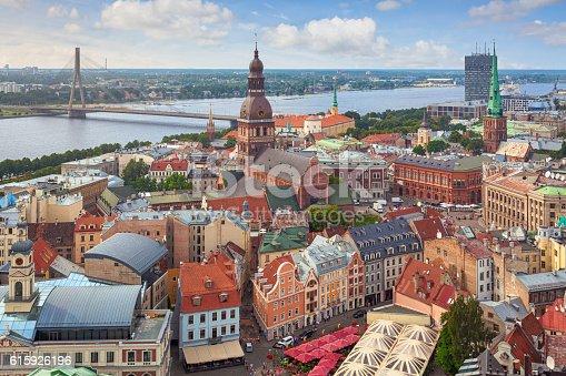 istock Riga, capital of Latvia 615926196