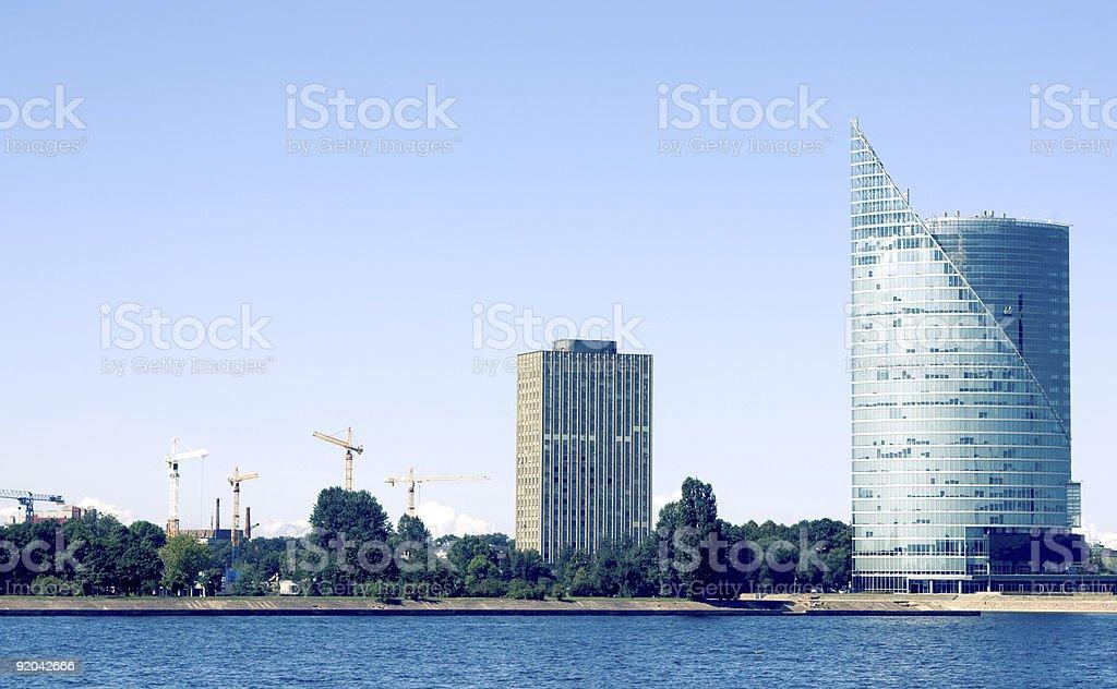 Riga city view royalty-free stock photo