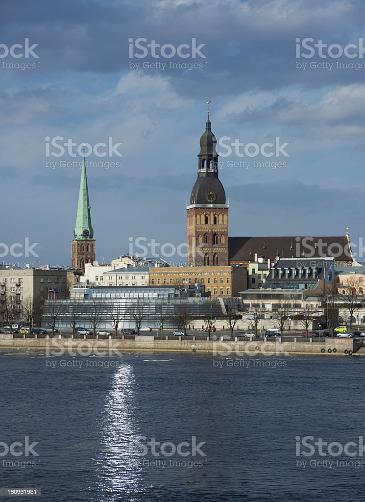Riga - general view royalty-free stock photo