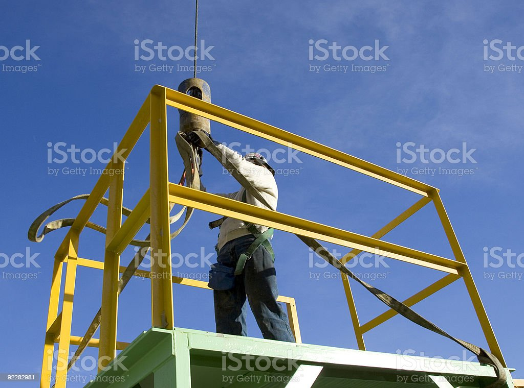 Rigging 1 stock photo
