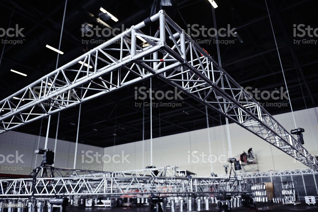 Rigging Truss stock photo