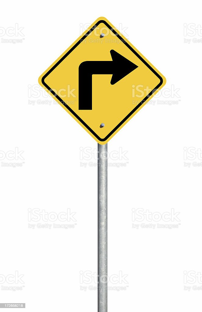 Right Arrow Sign stock photo