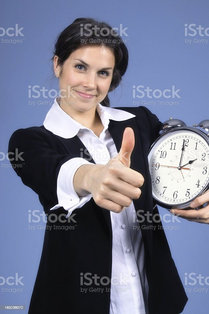 Right On Time royalty-free stock photo