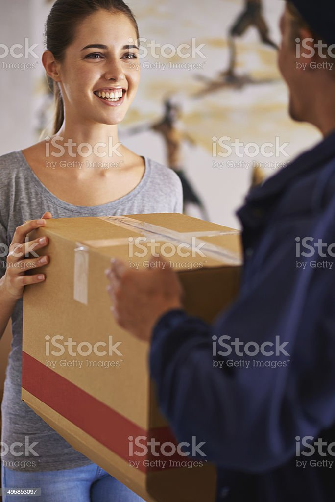 Right on time stock photo