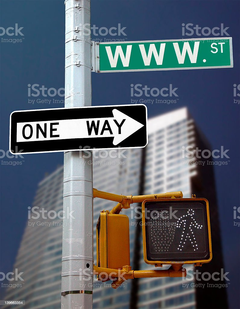 Right way stock photo