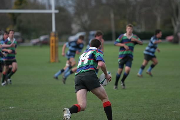 ala derecha - rugby fotografías e imágenes de stock