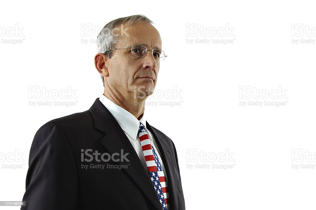 Right Wing Republican royalty-free stock photo
