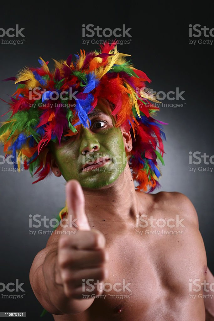 Right-On royalty-free stock photo