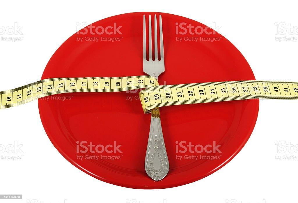 Rigorous Diet_2 royalty-free stock photo
