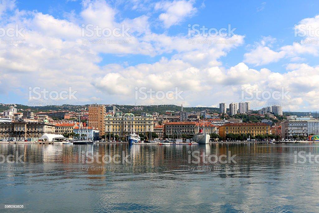 Rijeka, Croatia royalty-free stock photo