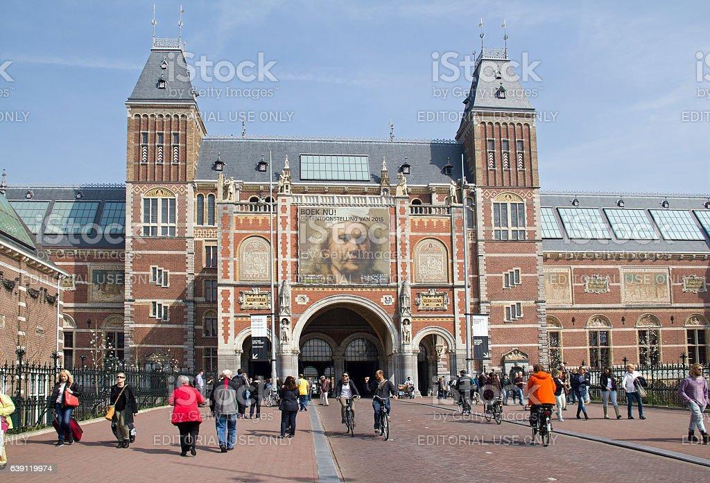 Rijksmuseum Amsterdam, Holland stock photo