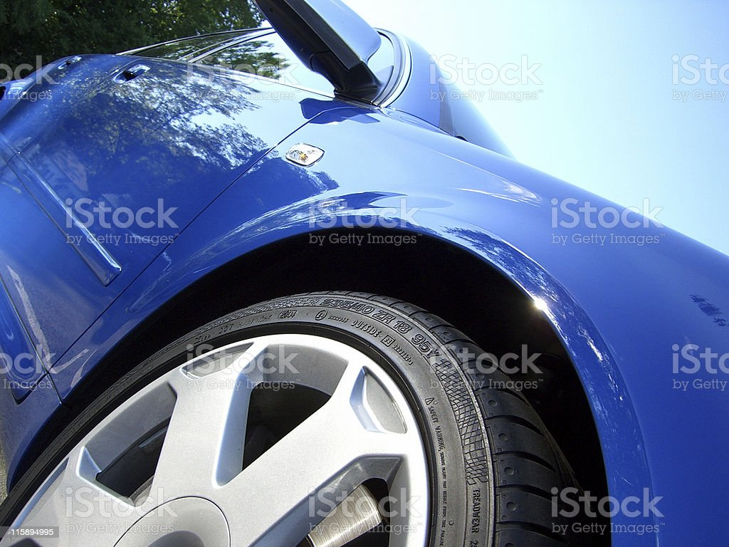 rim and tire royalty-free stock photo