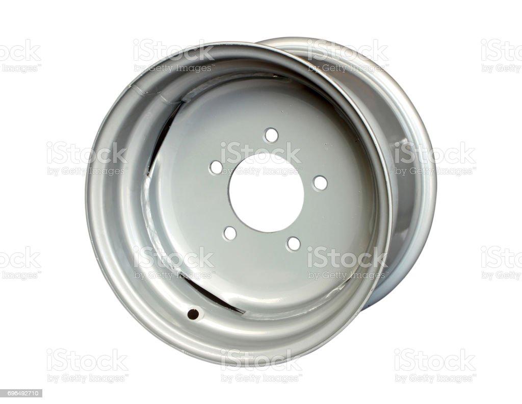 rim isolated on white stock photo