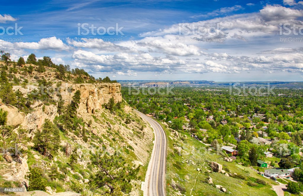 Rimrock Views stock photo