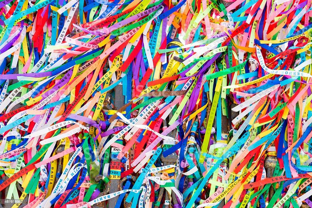 Rinbbons do Senhor do Bonfim, Salvador, Bahia - foto de acervo