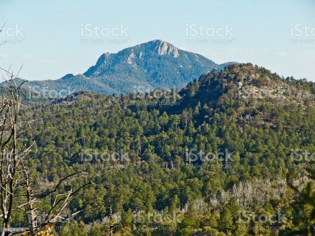 Rincon Peak from Deer Head Spring stock photo