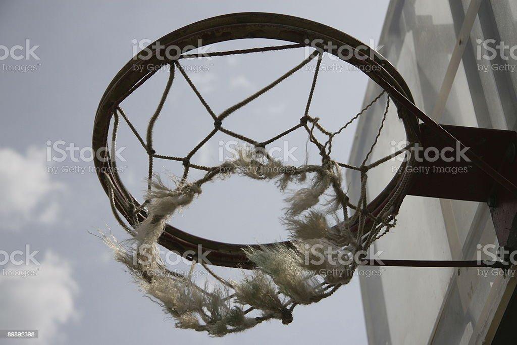 Ring basketball royalty-free stock photo