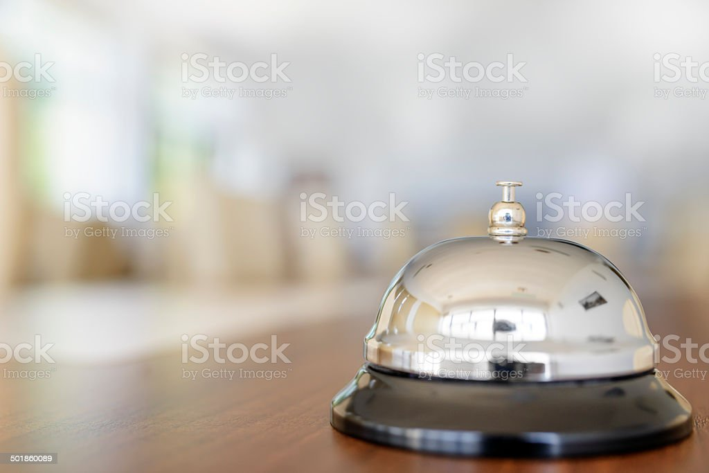 ring bell stock photo