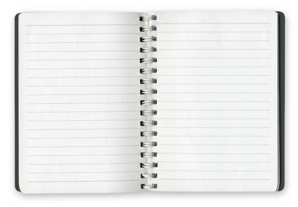 Ringbuch Notebook Leerseiten – Foto
