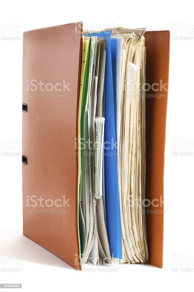 Ring Binder royalty-free stock photo