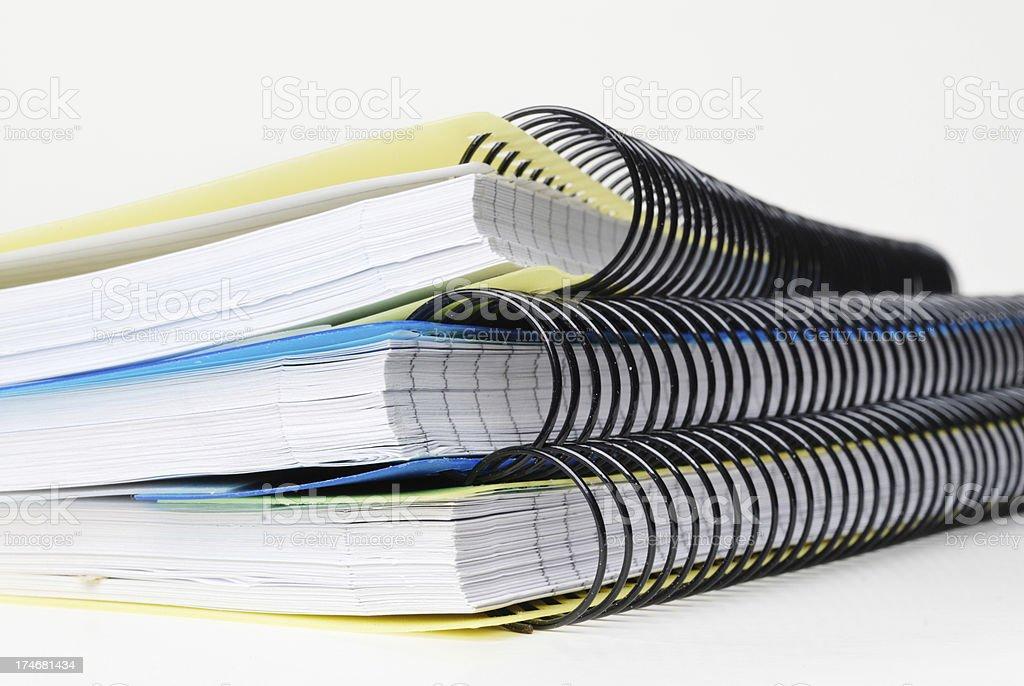 ring binders royalty-free stock photo
