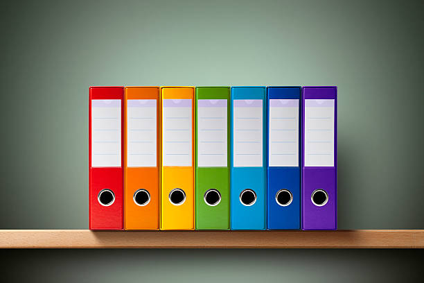ring binders - file stock pictures, royalty-free photos & images