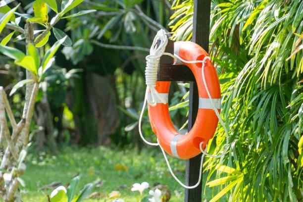 ring buoy - foto stock