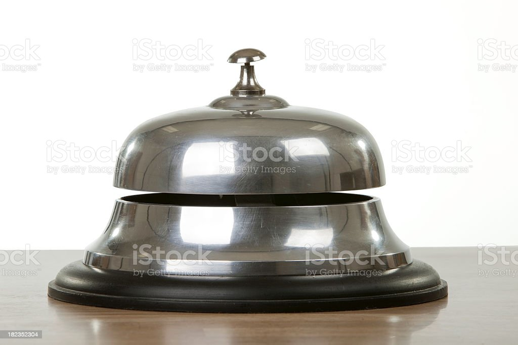 Ring for Service Bell royalty-free stock photo